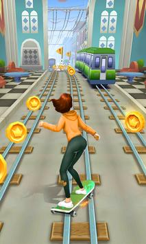 Subway Skate Surfers poster