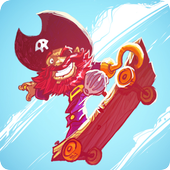 Skating Pirate icon