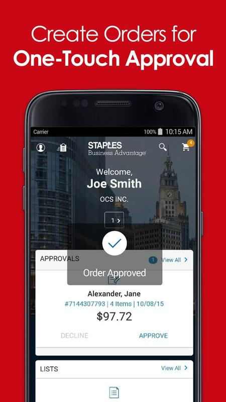 Staples Business Advantage For Android