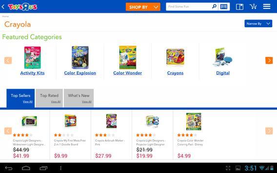 "Toys""R""Us Shopping apk screenshot"