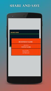 Bussiness Card Maker screenshot 4
