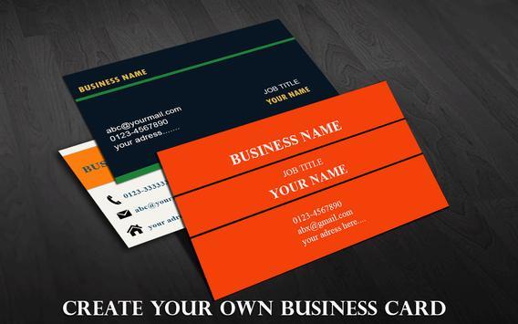 Bussiness Card Maker poster