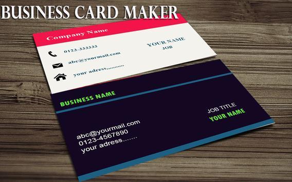 Bussiness Card Maker screenshot 1