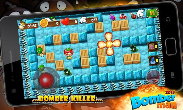 Super Bomberman 2015 apk screenshot