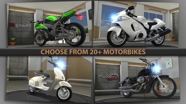 Traffic Rider captura de pantalla 4