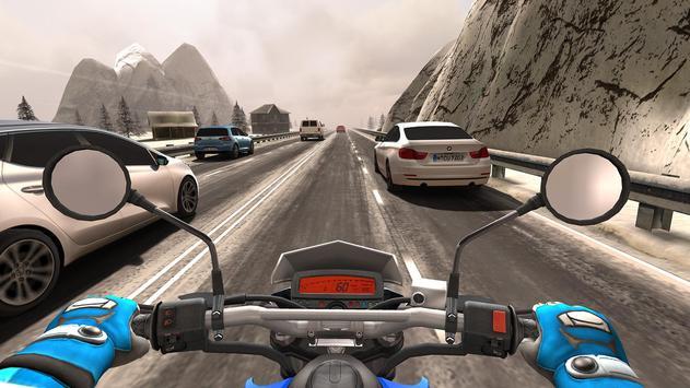 Traffic Rider captura de pantalla 1