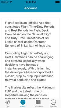 FlightSked screenshot 1
