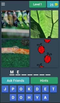 Who's that pocket monster? Four pics guessing game apk screenshot