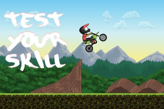 Racing forest motorbike apk screenshot