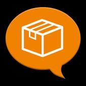 荷物追跡通知 icon