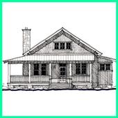 Sketch Of Home Architecture icon