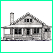 Sketch Of Home Architecture icon