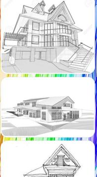 Sketch Of Home Architecture screenshot 4