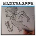 sketch anime characters
