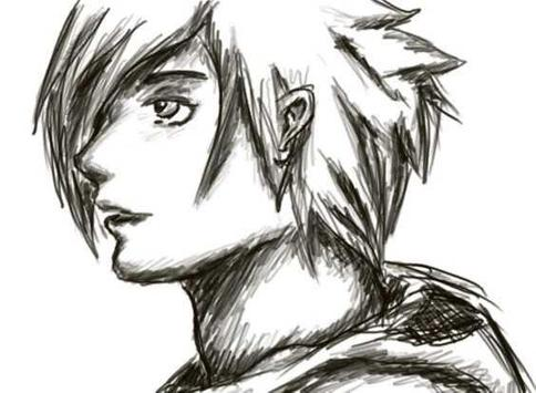 Sketch anime manga apk screenshot