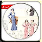 Sketch Designing Dress icon