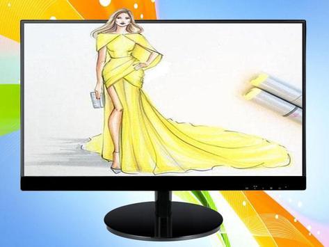 Sketch Designing Dress screenshot 4