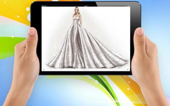 Sketch Designing Dress screenshot 2