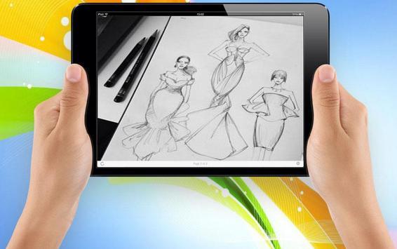 Sketch Designing Dress screenshot 3