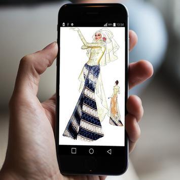 sketch of wedding dress apk screenshot
