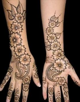 Skin design henna apk screenshot