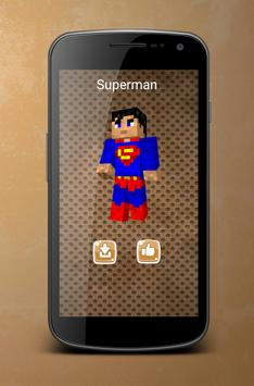 Superhero Skins For Minecraft APK Download Free Entertainment APP - Minecraft skins fur ipod