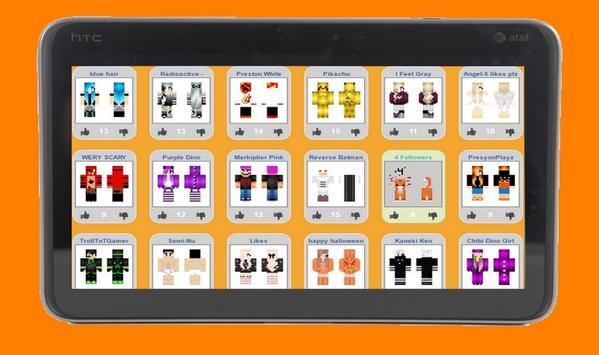 Skins Minecraft Pe For Tablet APK Download Free Photography APP - Minecraft skins fur tablet