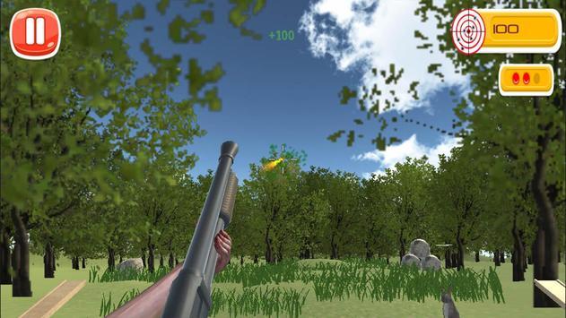 Skeet Shooting : Clay Hunt 3D screenshot 1
