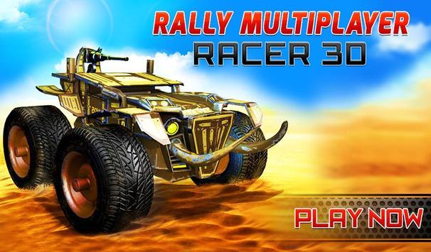 Rally Racing Car Multiplayer poster