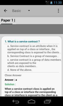 WCF.Net Interview Questions apk screenshot
