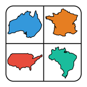 Country Outline Quiz icon