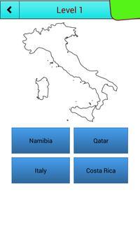 Country Outline Quiz apk screenshot