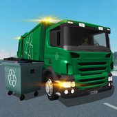 Trash Truck Simulator 圖標