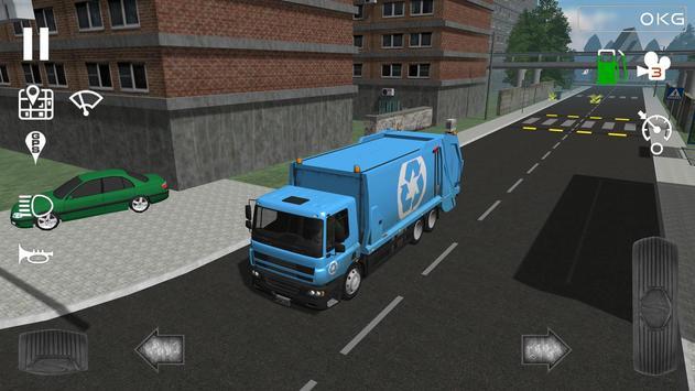 Trash Truck Simulator 海報
