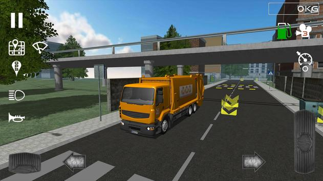 Trash Truck Simulator apk 截圖