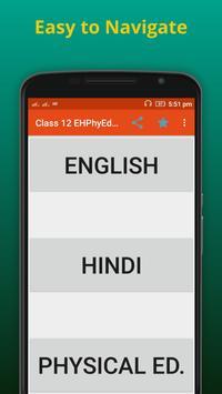 Eng Hindi Phy.Edu 12 th Notes poster