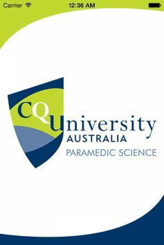 CQUniversity-Paramedic Science poster