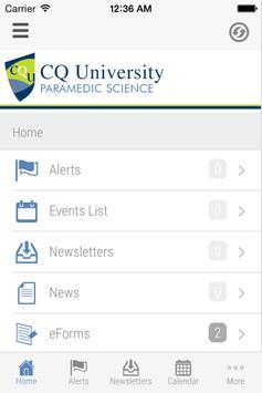 CQUniversity-Paramedic Science screenshot 2