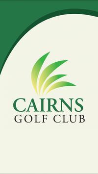Cairns Golf Club poster