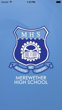 Merewether High School poster