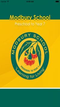 Modbury School poster