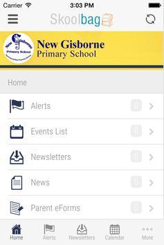 New Gisborne Primary School apk screenshot