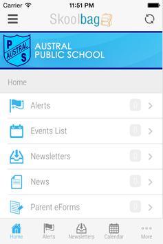 Austral Public School apk screenshot