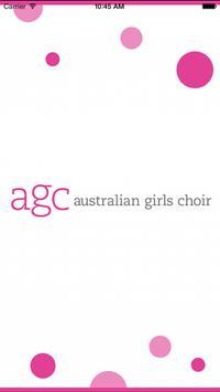 Australian Girls Choir poster