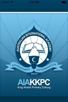 AIA - King Khalid Coburg poster
