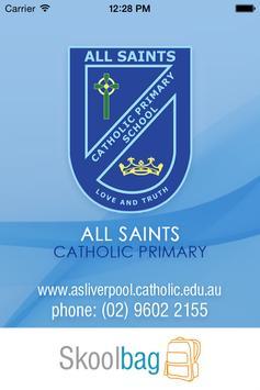 All Saints Catholic Liverpool poster