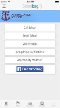 Annunciation School apk screenshot