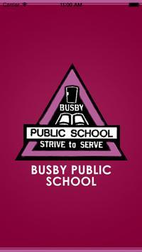 Busby Public School poster