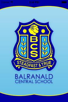 Balranald Central School poster