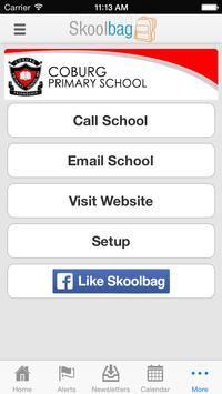 Coburg Primary School apk screenshot